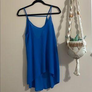 Dresses & Skirts - Lush blue dress